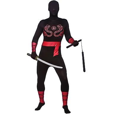2nd Skin Ninja Lycra Adult Japan Costume warrior Skinz ...