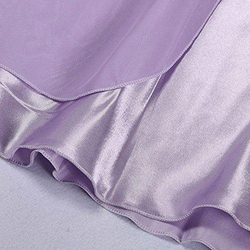 Violet V Nuisettes Bretelles vtements Robe Back Clair de Sous Noeud Femme Dentelle Profond Robe Sans Sexy en Cross Kingwo Dentelle Fleur Nuisette qRwUIx6F