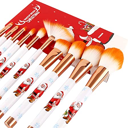 TAOtTAO 10 - Brochas de Maquillaje y Belleza, diseño navideño ...