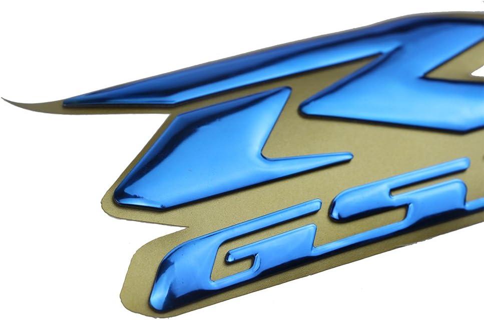 blau PSLER Motorrad 3D Raise GSXR Aufkleber Emblem Aufkleber f/ür GSXR1000 GSXR750 GSXR600