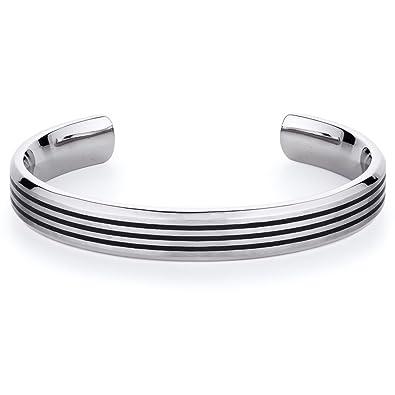 Pures Revoni Homme Lignes Titane Bracelet Inoxydable 2D9HIE