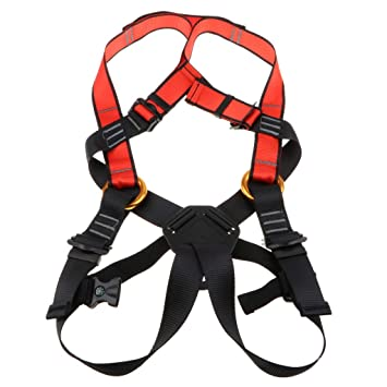 B Baosity Kids' Full Harness, Youth Safety Comfort Climbing ...