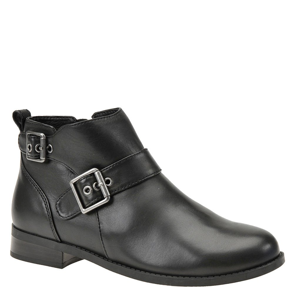 Vionic Womens Country Logan Closed Toe Ankle Fashion Boots B01N6J9OLL 7.5 B(M) US|Black