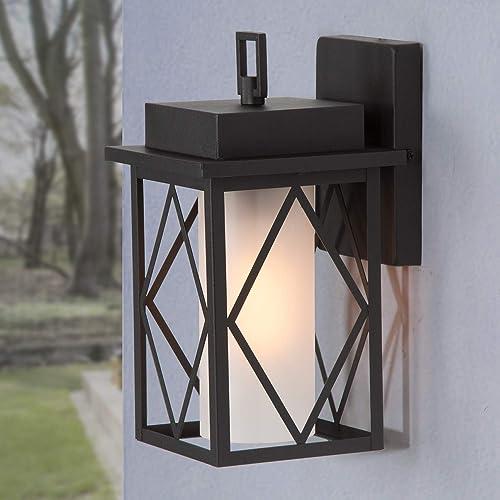 LOG BARN Outdoor Wall Lantern
