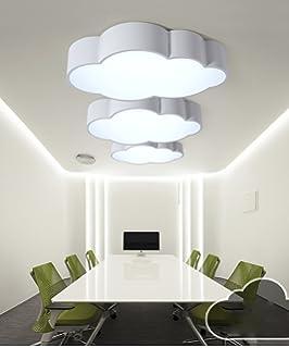 lxsehn nube de sala de nios creativa europea lmpara de techo de led nios muchachas dormitorio