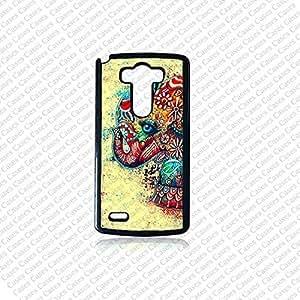 Krezy Case LG G3 case, Lg G3 Phone case, Colorful Elephant Lg G3 case, Cute Lg G3 cover, Best Lg G3 Phone Case