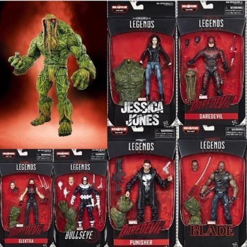 Marvel Knights Marvel Legends Netflix 6-Inch Action Figures Set Of 6