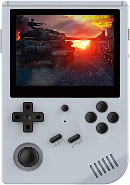 Retro Game Console Built-in 5000//10000 classic games Open Source System Game Console with 3.5-inch IPS screen RG351V Handheld Game Console