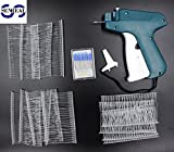 SENREAL Price Label Tag Gun Labeler Tag Attacher Gun+1 Tagging+1000 White Barbs Fasteners+5 Extra Steel Needles