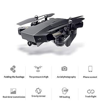 Amazon com: Professional Intelligent Folding Drones WiFi FPV Fixed