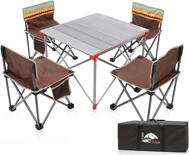 Matilda Mesa Plegable portátil al Aire Libre, Mesa de Picnic Ultraligera de aleación de Aluminio, Mesa de Pesca