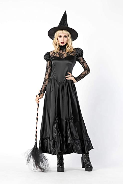 Skjfdmiy Disfraces de Halloween Disfraces de Halloween de la bruja ...
