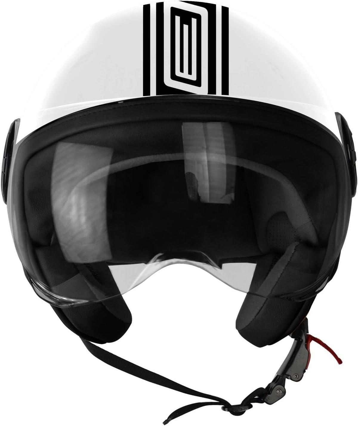 Casco Demi Jet 201585028100103/Neon Street S Origine Helmets blanco