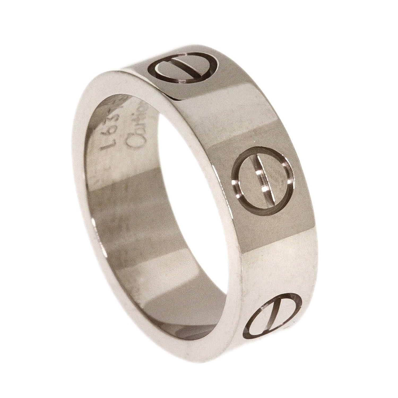 [カルティエ]6.7g ラブリング リング指輪 K18ホワイトゴールド レディース (中古) B01MYRVGMA