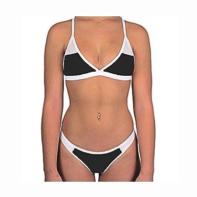 Amazon.com: Bañador de malla para mujer, trajes de natación ...