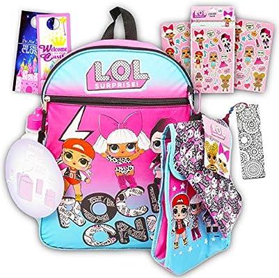 LOL Dolls mochila y caja de almuerzo para niñas ~ Deluxe 16 ...