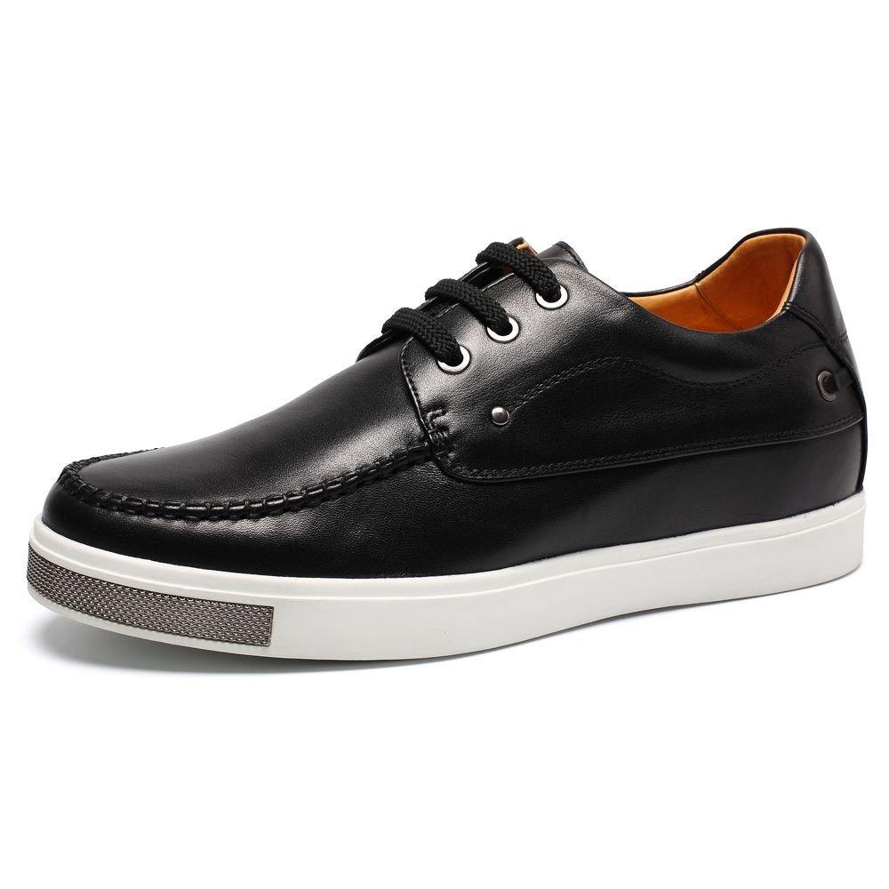 CHAMARIPA(JP) 底上げ靴 身長6cmUP メンズ シークレットシューズ 背が高く ウォーキング カジュアル スケートボード B01M1OK2MC 25.5 cm ブラック2