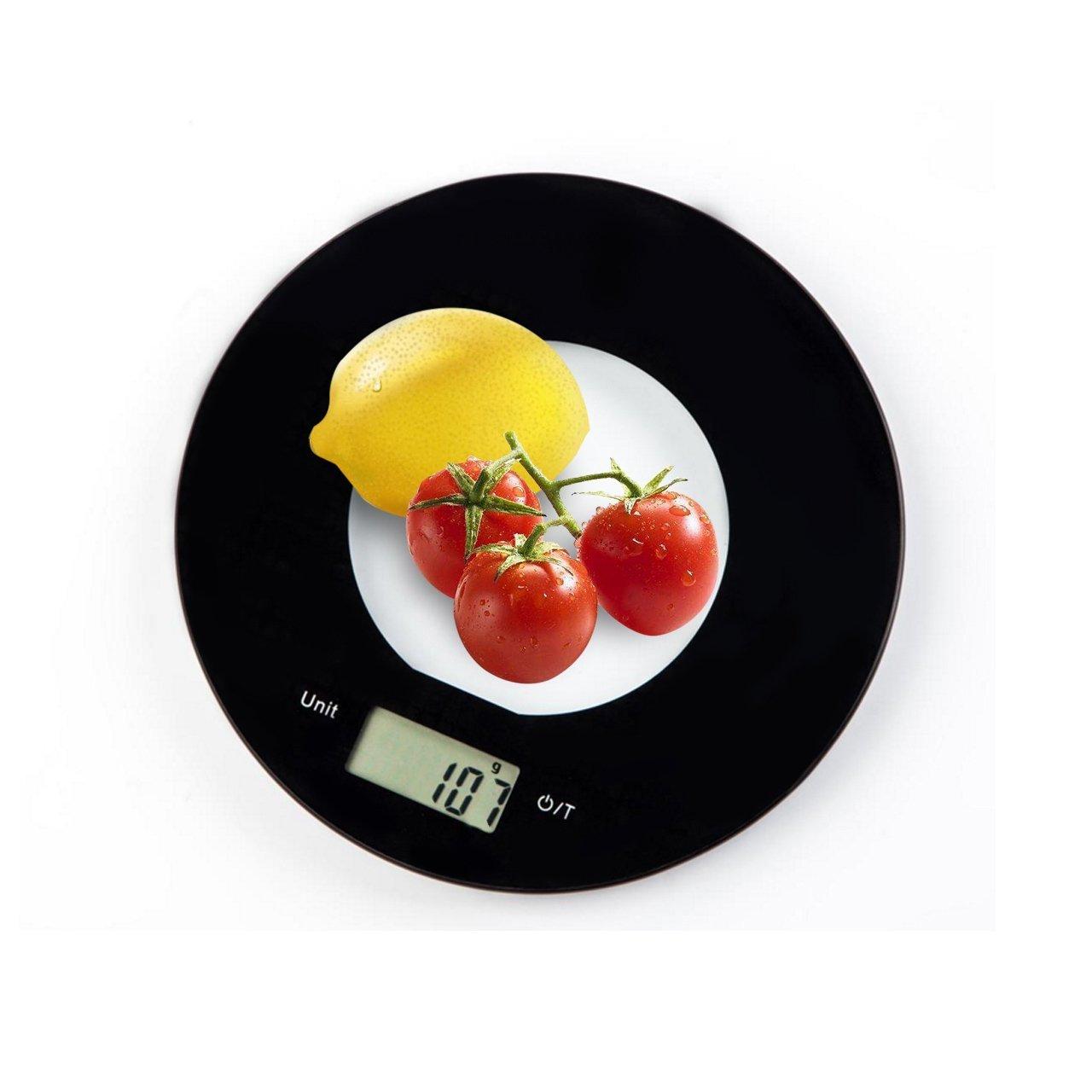 Varanda báscula de cocina 5000 g Digital de cocina alimentos escala electrónica con LCD Pantalla para Pascua, para el hogar, precisa G y pilas incluidas ...