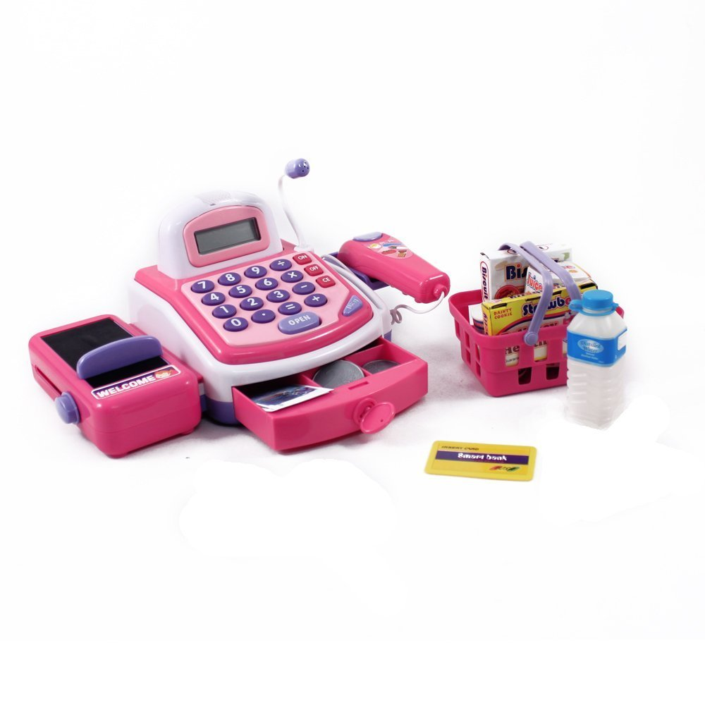 Shopping Cash Register & Accessories Toy For Girls by Velocity Toys