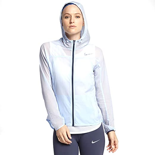 Womens Running NIKE IMPOSSIBLY JacketHydrogen Light Blue kXZuOiTP