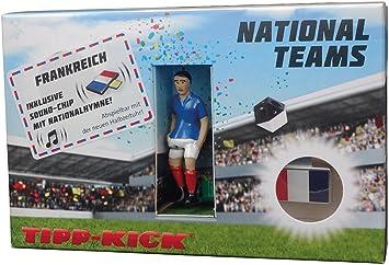 Tipp-Kick (Mieg)- Star-Kicker Francia en Caja de Pared con Himno. (031032): Amazon.es: Juguetes y juegos