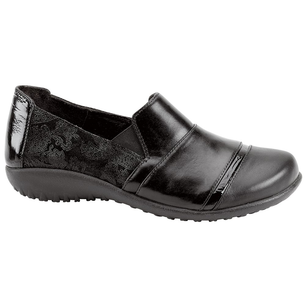 NAOT Miro Koru Women Flats Shoes B01MG32MZS 37 M EU|Blk Lace/Madras/Crinkle Combo