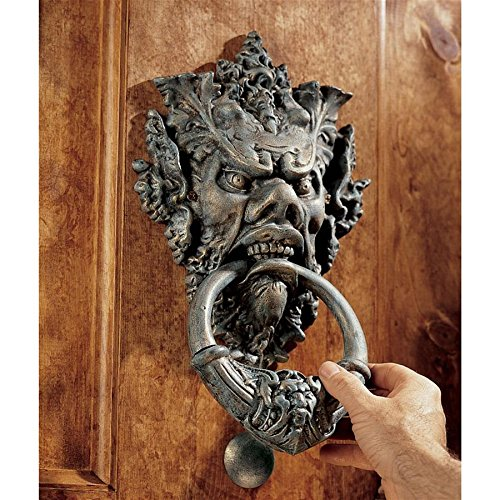 Design Toscano Vecchio Greenman Authentic Iron Door ()