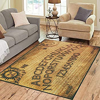 Amazon.com: Ouija Board Area Rug 5x 7, Educational ...
