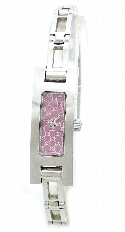 [グッチ] GUCCI グレー文字盤 SS レディース QZ クォーツ 腕時計 3900L [中古] B00HE7EC0Q