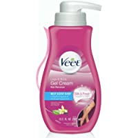 Hair Remover, Veet Gel Hair Removal Cream Sensitive, 13.5 Ounce, Sensitive formula with Aloe Vera and Vitamin E  ( Packaging May Vary )