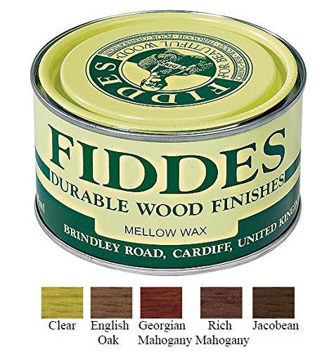 Fiddes Mellow Wax Furniture Polish 400ml – Dark Brown (English Oak)