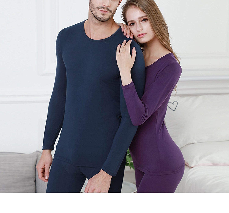 Amazon.com: Traje térmico de ropa interior para hombre y ...