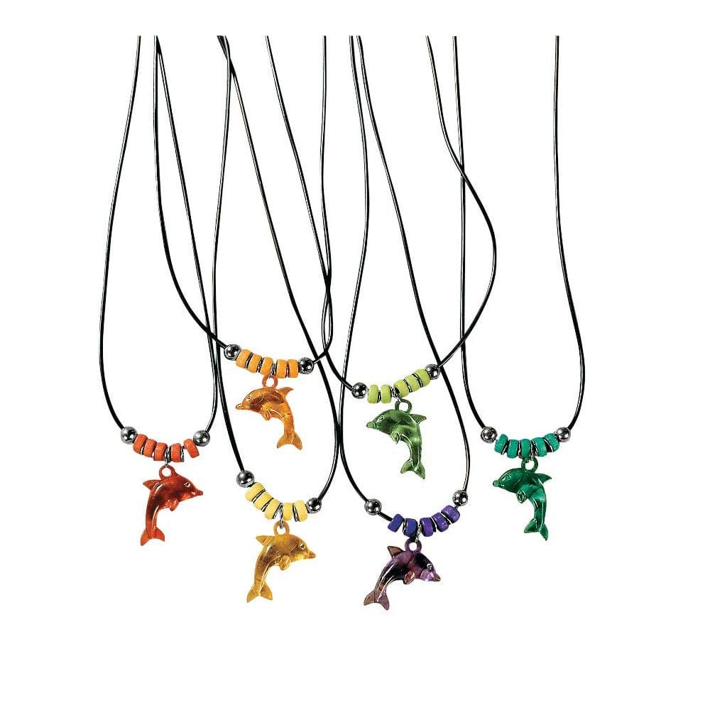 Dolphin Necklaces Vacation Bible School /& Novelty Jewelry Fun Express 24//1515