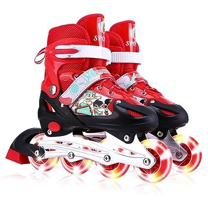 e1b5c7d4c08 Amazon.com   GFF SHOP Multi-Selection Children s Roller Skates ...