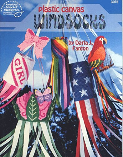(Plastic Canvas Windsocks (American School of Needlework #3075))