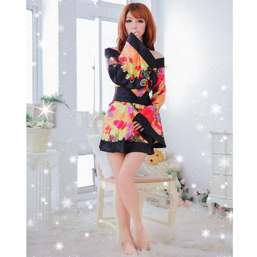 Soutien-gorge charme kimono féminin et confortable des uniformes de jeu de rôle