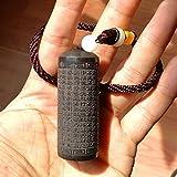 HOLANTON EDC Ebony Blackwood Snuff Bottle Portable