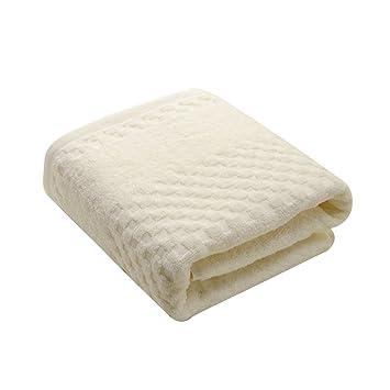 frcolor toalla de baño 140 x 70 cm grueso algodón toalla para adultos: Amazon.es: Belleza