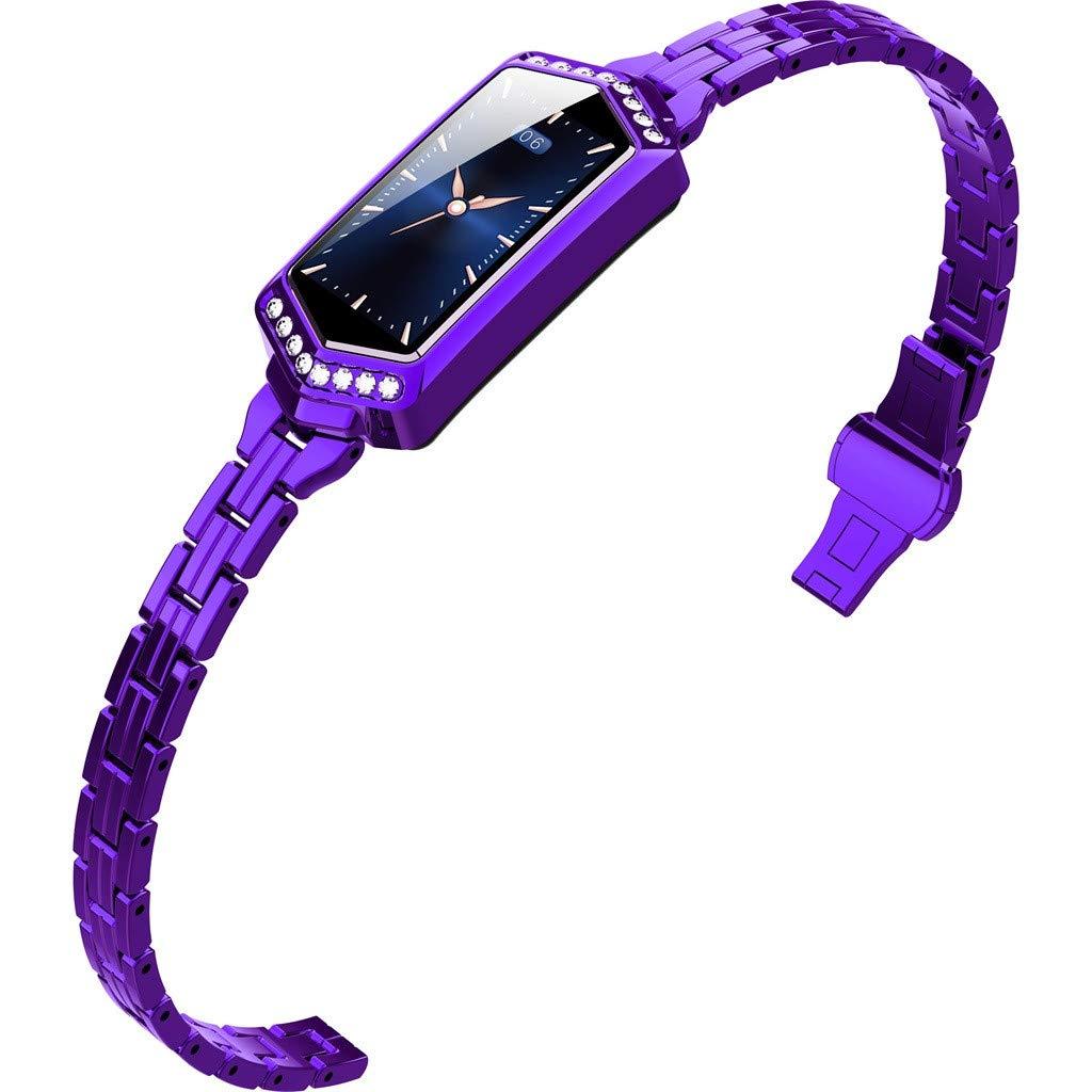 LUXISDE Fitness Bracelet Smartwatch Ladies, Activity Indicator J1 Ladies Blood Pressure & Heart Rate Sport Smart Watch Bracelet by LUXISDE (Image #2)