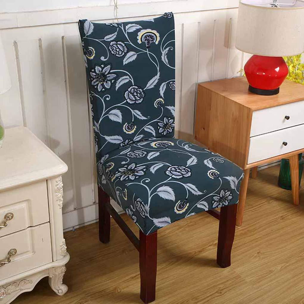 RXIN 椅子カバー ホームデコレーション オフィス ホテル おしゃれ プリント ポリエステル繊維ケース スパンデックス 結婚式 8BOM28  S15 B07K9CL6QT