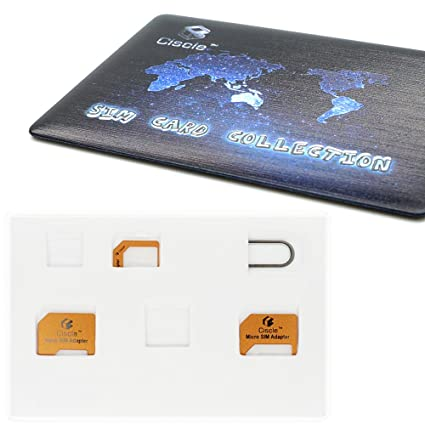 Ciscle Adaptador Para Tarjeta Nano SIM Tarjeta Micro SIM ...