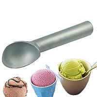 Sonline 1pcs Aluminum Ice Cream Scoop Non-Stick Anti-Freeze Spoon Dipper Craft Kitchen Tool