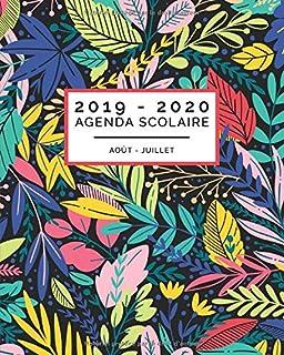 Agenda Scolaire 2019/2020: Motif flamant rose - Agenda scolaire et ...