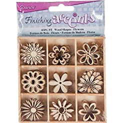 Finishing Accents 23465 45 Piece Flower ...