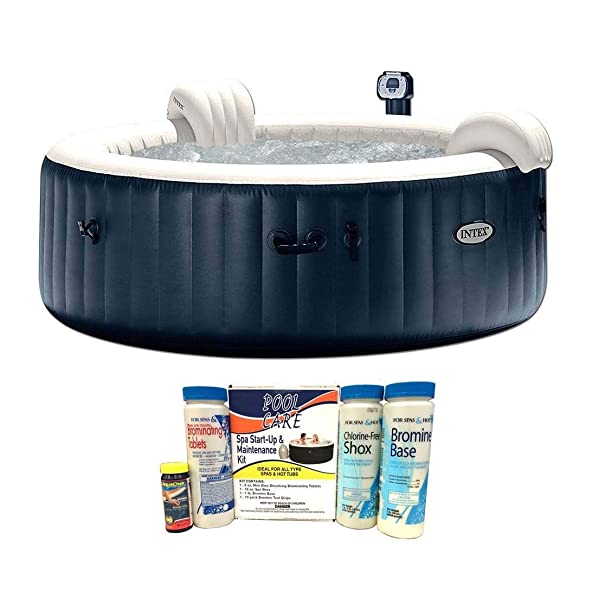 Intex Pure Spa 6 Person Inflatable Hot Tub