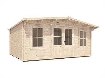 home office cabin. Dunster House Garden Log Cabin Man Cave Home Office Summer - W5m X D4m 45mm