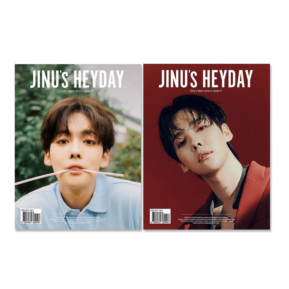 YG Entertainment Idol Goods Fan Products Select JINU 1ST Single [JINU's Heyday] (B) by YG