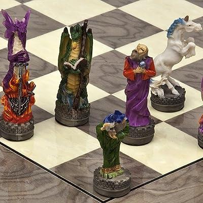 Hand Painted Fantasy Chessmen