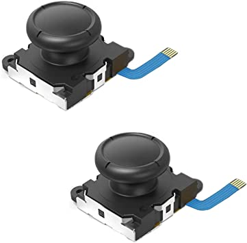 Veanic 2-Pack Replacement Joystick Analog Thumb Stick for Nintendo Switch Joy-Con Controller