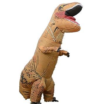 ZMH Dinosaurio Traje Tiranosaurio Rex Traje Inflable Cosplay ...